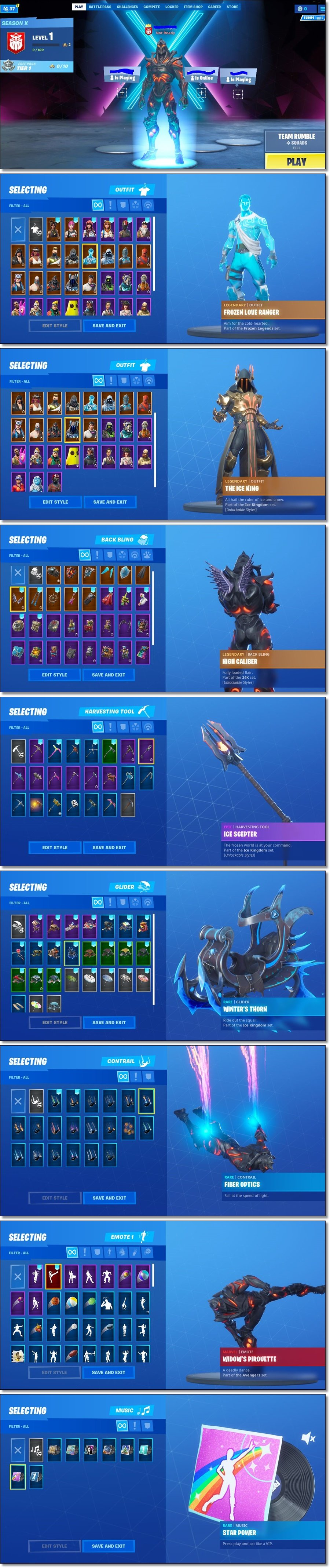 Fortnite Account / 33 Skins / Best Skins / Full Email Access / Se